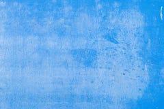 Oud van de stijl uitstekend muur blauw als achtergrond Stock Fotografie