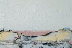 Oud van de stijl uitstekend muur roze als achtergrond Stock Foto's