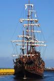 Oud varen-schip Royalty-vrije Stock Foto's