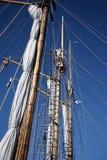 Oud varend schip Stock Fotografie