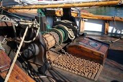 Oud varend schip Royalty-vrije Stock Afbeeldingen