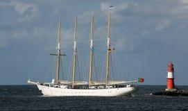 Oud varend schip in Hansesail 2014 (03) Stock Afbeeldingen