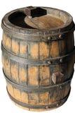 Oud vat voor wijn stock fotografie