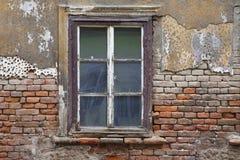 Oud venster Stock Foto