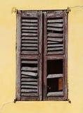 Oud venster Stock Foto's