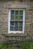 Oud venster Royalty-vrije Stock Afbeelding