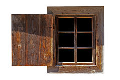 Oud venster Stock Afbeeldingen