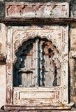 Oud venster en houten blinden royalty-vrije stock fotografie