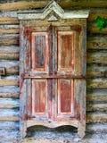 Oud venster met blinden Royalty-vrije Stock Foto
