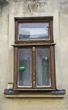 Oud venster op een huis in Sremski Karlovci 1 Stock Foto