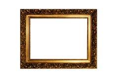Oud verfraaid frame stock foto