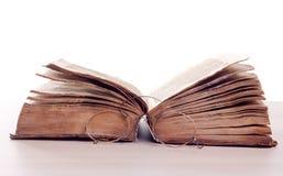 Oud verhalenboek stock afbeeldingen