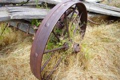 Oud verlaten de landbouwmateriaal Royalty-vrije Stock Afbeelding