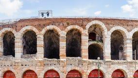 Oud Verona, Italië, Unesco-Werelderfenis stock foto