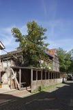 Oud veroordeeld blokhuis royalty-vrije stock foto