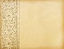 Oud versleten document Stock Foto