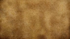 Oud versleten papyrusdocument met vervuilde oppervlakte stock foto