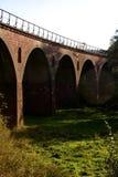 Oud viaduct, Polen Royalty-vrije Stock Foto's