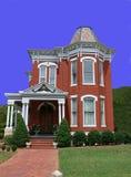 Oud Victoriaans huis    Royalty-vrije Stock Afbeeldingen