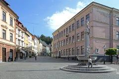 Oud Vierkant Ljubljana Royalty-vrije Stock Foto