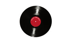 Oud vinylverslag Royalty-vrije Stock Fotografie