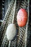 Oud visserijnet Stock Afbeeldingen