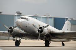 Oud vliegtuig Stock Afbeeldingen