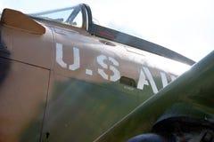 Oud vliegtuig Royalty-vrije Stock Afbeelding