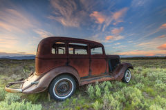 Oud voertuig stock afbeelding