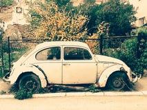 Oud Volkswagen Beatle Royalty-vrije Stock Afbeeldingen