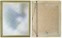 Oud vuil frame voor een beeld royalty-vrije stock foto