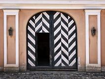Oud wachthuisje binnen de poorten van de vesting Stock Afbeeldingen