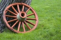 Oud wagenwiel Stock Foto's