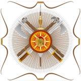 Oud wapen Royalty-vrije Stock Afbeeldingen