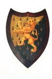 Oud wapenschild Royalty-vrije Stock Foto