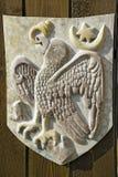 Oud wapenschild Royalty-vrije Stock Afbeeldingen