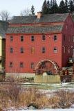 Oud Waterwiel in Littleton, NH Stock Afbeeldingen