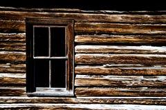 Oud westelijk huis in Montana Royalty-vrije Stock Afbeeldingen