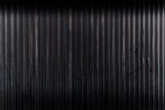 Oud wheathered gegalvaniseerde muur Royalty-vrije Stock Fotografie