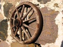 Oud wiel Royalty-vrije Stock Foto