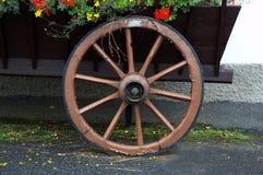 Oud wiel Royalty-vrije Stock Foto's