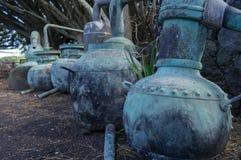 Oud wijnschip Royalty-vrije Stock Foto