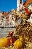 Oud Wijnstokfestival 2014, Maribor, Slovenië Stock Foto's