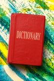 Oud woordenboek royalty-vrije stock afbeeldingen