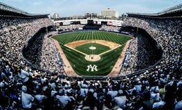 Oud Yankee Stadium in Bronx, NY stock fotografie