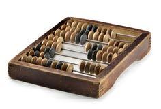 Oud zak houten telraam stock fotografie