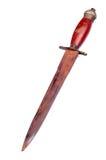 Oud zwaard royalty-vrije stock afbeeldingen