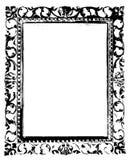 Oud zwart frame Stock Afbeeldingen