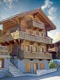 Oud Zwitsers huis 18 Royalty-vrije Stock Afbeeldingen