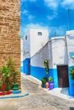 Oudaya rabat Μαρόκο Στοκ φωτογραφία με δικαίωμα ελεύθερης χρήσης
